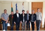 The Mayor met the Delegation from the Partner City of Goes